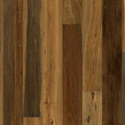 Parchet din lemn de stejar triplustratificat afumat