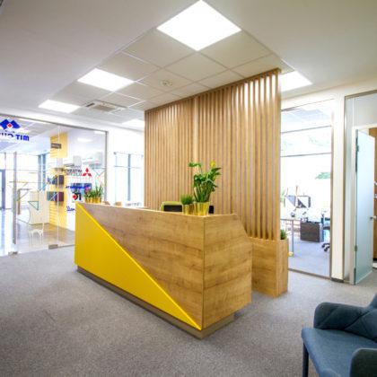 Mocheta modulara birouri